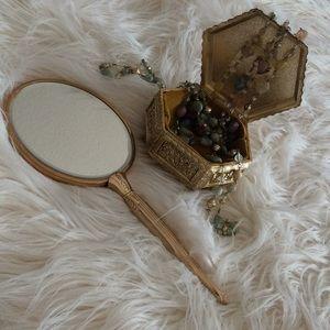 Accessories - GORGEOUS 💞vintage vanity mirror 💞